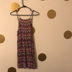 Patterned Strappy Dress